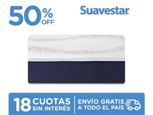 Colchón Suavestar Stress Free 200x160 En Caja Queen