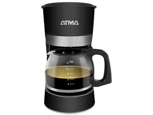 Cafetera CA8143N 1,5 Litros Negro ATMA