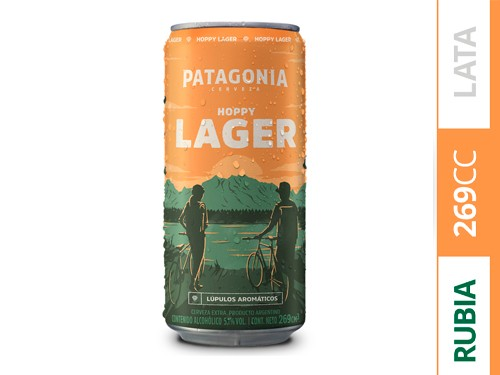 Cerveza Patagonia Hoppy Lager 269ml x10