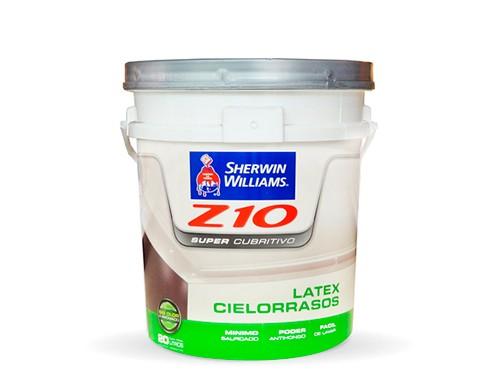 Z10 Supercubritivo Latex Para Cielorraso 10 lts - SHERWIN WILLIAMS