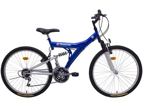 Bicicleta Mountain Bike Rodado 26 Azul SIAMBRETTA
