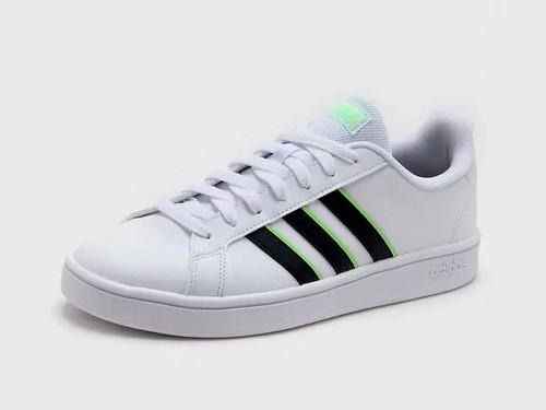 Zapatilla Blanca Adidas Grand Court Base
