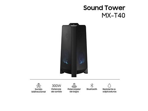 Torre de Sonido Bluetooth MX-T40 Samsung