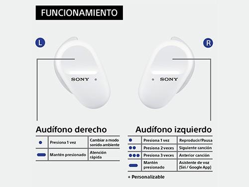 Auriculares inalámbricos WF-SP800N con noise cancelling SONY