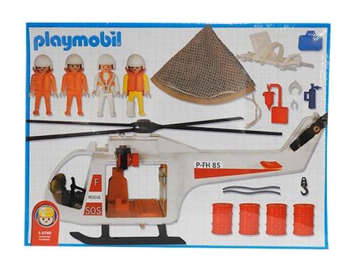 Playmobil Helicoptero Salvataje 3789