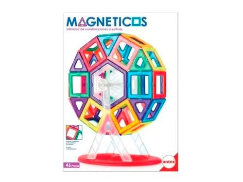 Juegos Magnéticos X 46 Piezas 1262 Antex