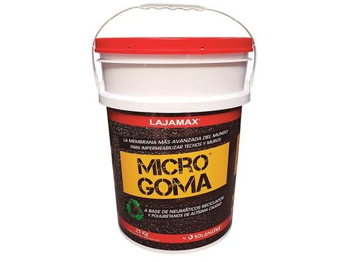 Microgoma Membrana Impermeabilizante Techos 22kg - Lajamax