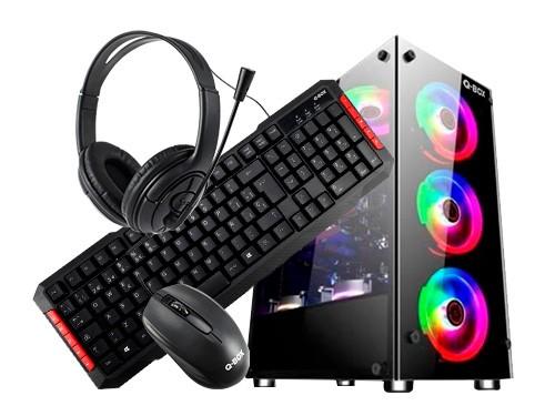 Pc armada Gamer AMD Ryzen 3 2200g a320m-k 8 gb 240 m2 +auric tec mouse