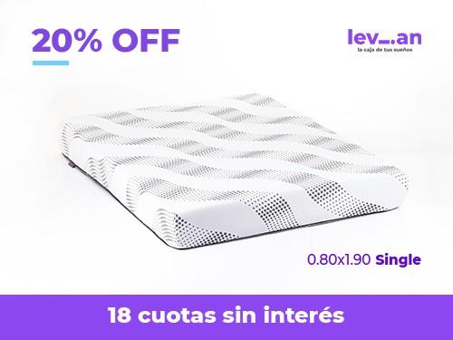 Colchón Levian Single 80x190