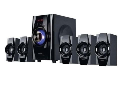 Home Theater 5.1 Parlantes 40W Pc Bluetooth Tv Usb Fm 220V Noga Niza