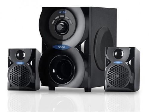 Home Theater 2.1 Equipo Musica Bluetooth Inalambrico 220V Noga Spark