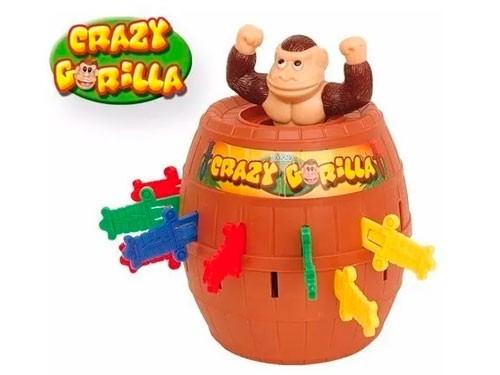 Juego de Mesa Crazy Gorilla Juego Gorila Con Espadas