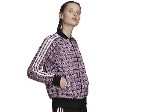 Campera Adidas Originals Allover Print Tracktop