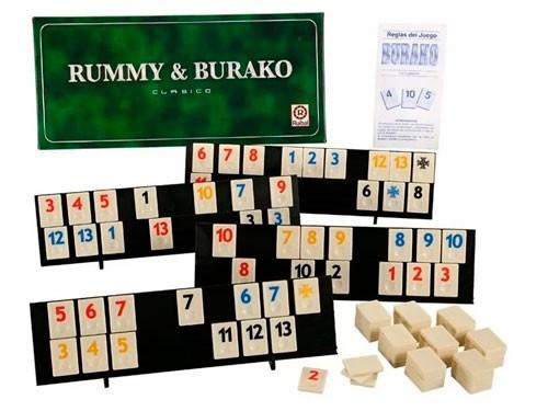 Juego de Mesa Rummy & Burako Clásico 1056