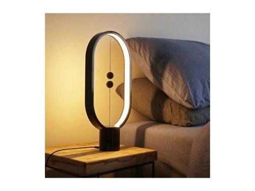 Lampara (velador) Magnetica Led De Equilibrio Levitacion Imantada Usb