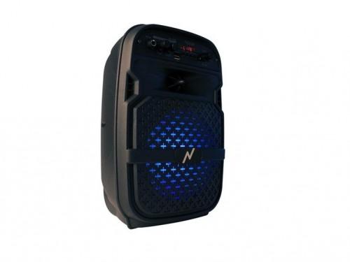 Parlante Inalambrico 75W P.M.P.O. BT Portatil Karaoke Fm Noga 400b