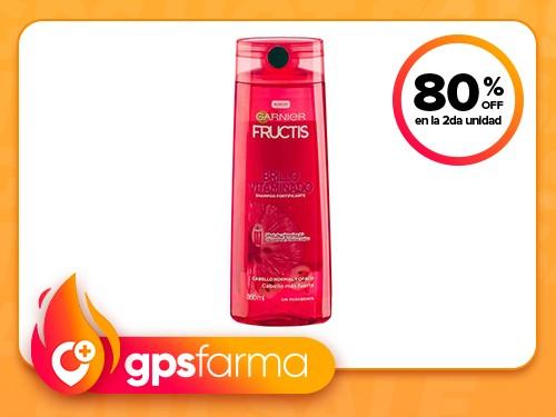 Shampoo Fructis Brillo Vitaminado x 350 ml