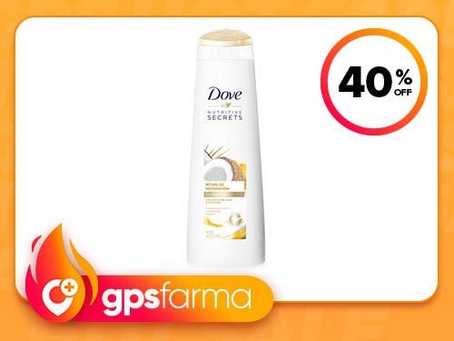 Shampoo Dove Ritual de Reparación Coco y Cúrcuma 400ml