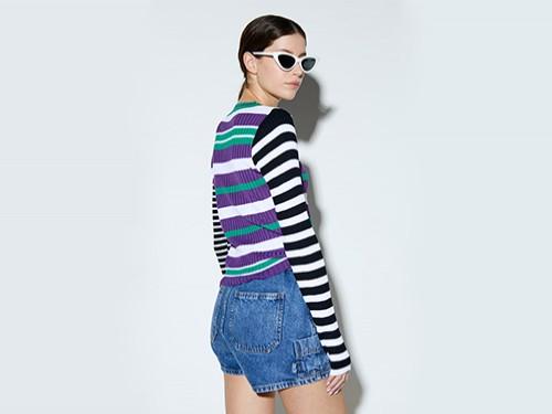 Sweater Rayado combinado COMPLOT