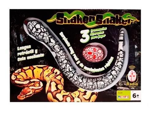 Magnific Snaker Snake Serpiente R/c 2029