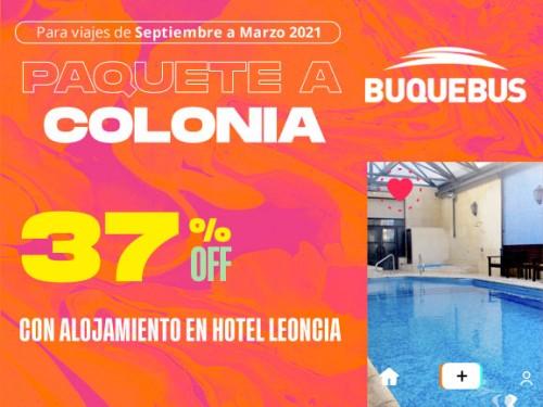 Paquete a Colonia - Hotel Leoncia 1 noche con desayuno
