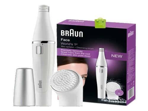 Modelador y depilador facial Braun se810n envio gratis y cuotas