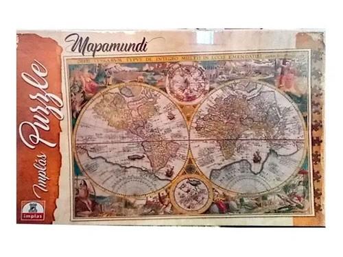 Puzzle Implás Mapa Mundi 1000 Piezas Art 212