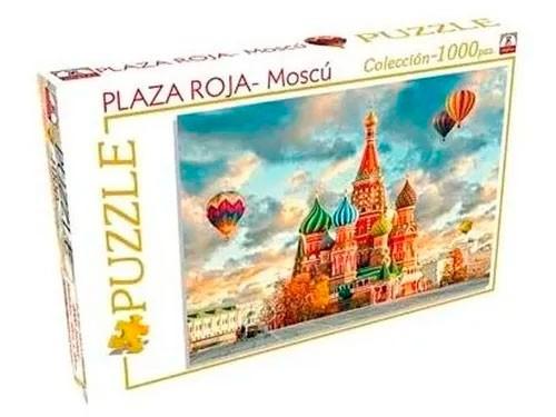 Rompecabezas Puzzle Plaza Roja Moscu 1000 Pzs Implas Art 303