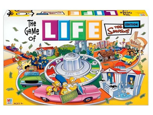 Juego De La Vida Life Los Simpsons 9772 Licencia Hasbro