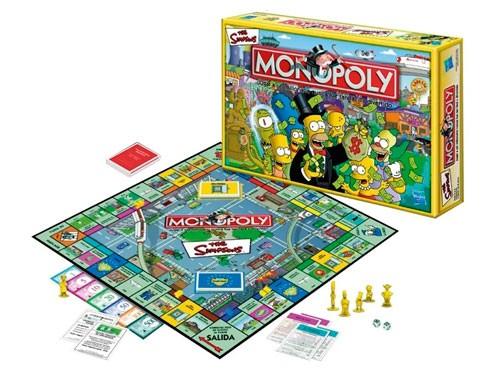 Juego De Mesa Monopoly Los Simpsons 9770 Licencia Hasbro