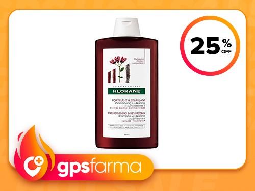 Shampoo de Quinina x 400 ml