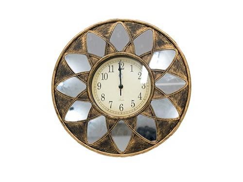 Reloj Espejo con Diseño 40cm