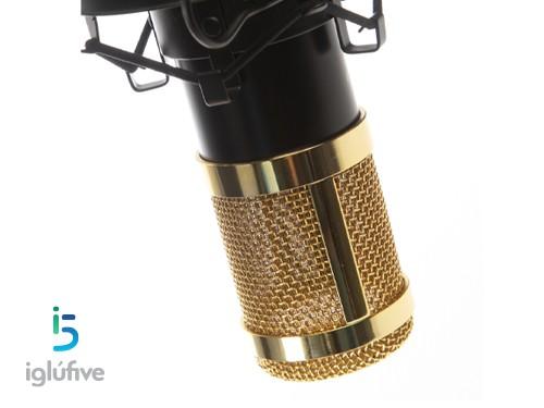 Microfono condensador unidireccional profesional FIFINE F800