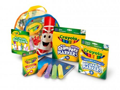 Kit Arte Mochila Crayola Art Buddy Tienda Oficial Único