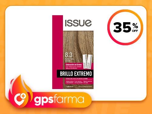 Issue Brillo Extremo Kit Coloración N°8.3 - Rubio Claro Dorado