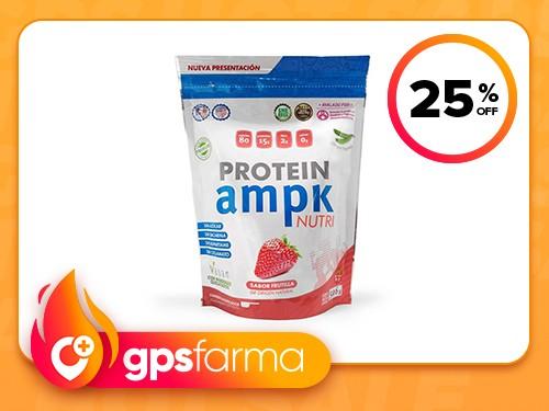 Suplemento AMPK Vegan Protein Frutilla x 500 gr