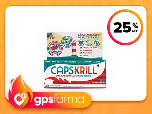 Suplemento Dietario Capskrill Aceite x 40 un