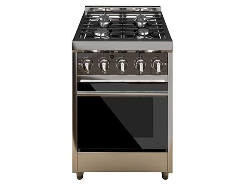 Cocina MORELLI 60 cm ZAFIRA P.V Multigas Inoxidable