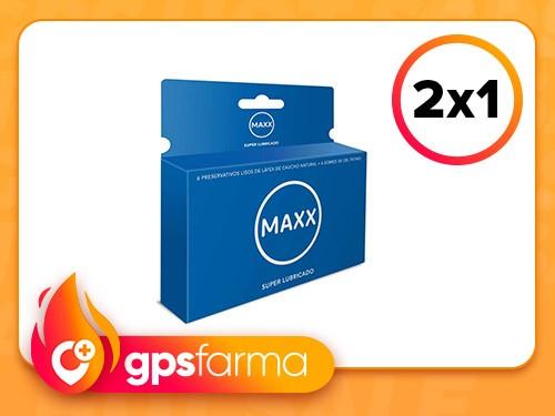 Preservativo Maxx Super Lubricado x 6 un