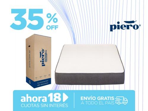 Colchón Piero Colchónbox 190x140 En Caja 2 Plazas