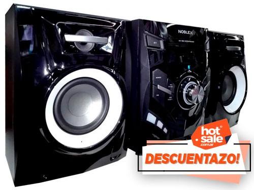 Equipo De Audio 500w mp3, usb, Bluetooth, AM,FM Noblex
