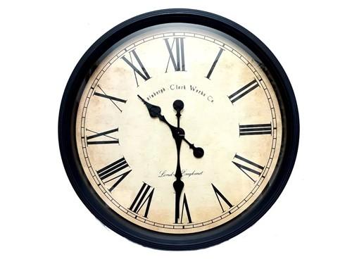 Reloj De Pared 50 Cm #60631 - Hot Sale