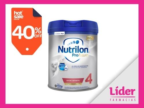 Nutrilon 4 Profutura Leche Infantil en polvo x 800 gr