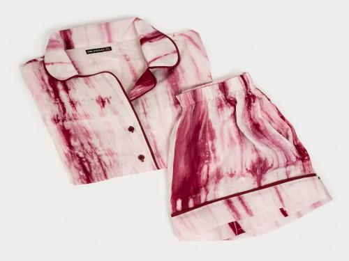 Pijama camisero batik