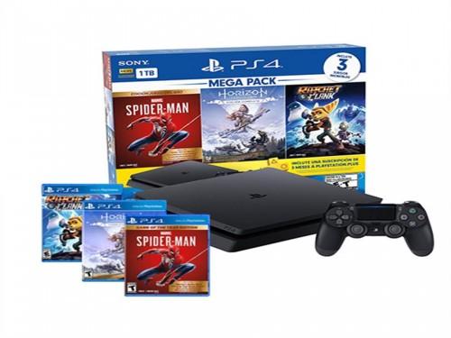 Consola PlayStation 4 (PS4) Mega Pack 15