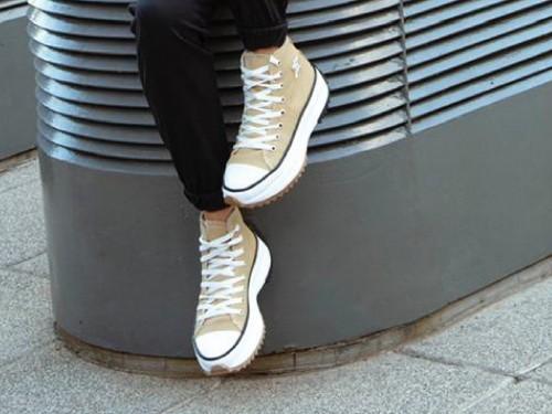 Zapatilla Mujer Atlanta Beige