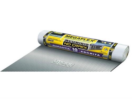 Membrana No Crack 40Kg Aluminio Premium