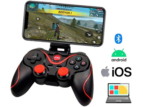 Gamepad Joystick Bluetooth Pc Gamer Ios Android Wireless
