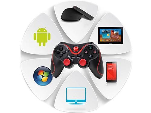 Gamepad Joystick Bluetooth Pc Gamer Ios Android Wireless