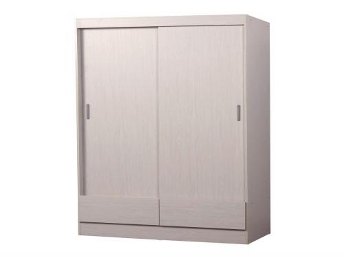 Placard Eco 2 Puertas Corredizas 54X112.8X181.7 Blanco